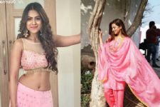 #Stylebuzz: Nia Sharma and Sargun Mehta's Pink Ensembles Are Stereotypes Done Right