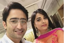 Mahabharat co-stars Shaheer Sheikh and Pooja Sharma come together for...