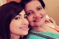 Gauahar Khan just did the SWEETEST gesture for her mother