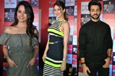 #Stylebuzz: Anita Hassanandani, Saumya Tandon And Karan Wahi At Cinema Premier League...