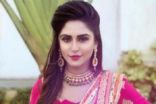 #Stylebuzz: Krystle Dsouza looks ravishing as a BRIDE on 'Belan Wali Bahu'
