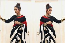 #Stylebuzz: Sensuous Beauty Hina Khan Sizzles In DadaSaheb Phalke Awards