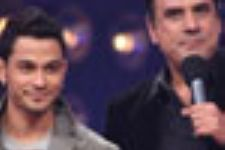 Boman Irani and Kunal Khemu in Jhalak..