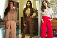 #Stylebuzz: How Television World's Ladies Chose Basic Pants As Their OOTD...