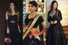 #Stylebuzz: From A LBD To Lehenga, Check Out The Magic Of Black...