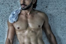 Here's why Harsh Rajput is pumping some extra iron in the gym