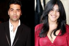Ekta Kapoor seeks BLESSINGS from Karan Johar for her upcoming venture