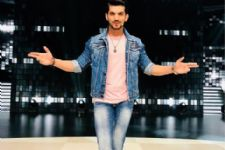 Arjun Bijlani is all smiles post his shoot with the team of Race 3!