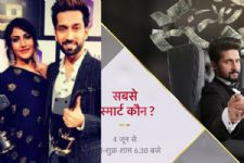 Nakuul Mehta and Surbhi Chandna send out best wishes to Ravi Dubey for his next on Star Plus!