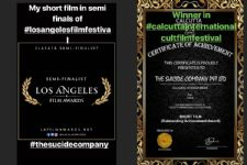 And here are the FIRST awards for the LOVED film, 'Suicide Company'