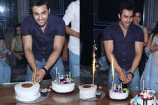Pearl V Puri celebrates his birthday with his Naagin co-stars and friends!