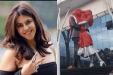 Ekta Kapoor creates HISTORY by installing 10 statues of love for Kasauti Zindagii Kay Season 2
