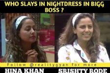 #BB12: Is Shristhy Rode Trying To Copy Hina Khan's Style Inside The House