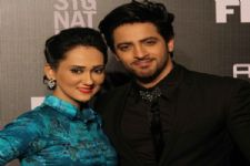 Vikkas Manaktala and Gunjan Walia in &TV's 'Laal Ishq'