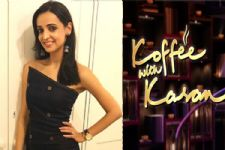 Sanaya Irani goes on to MIMIC a scene from 'Koffee With Karan' & here's what Mohit has to say