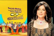 The cast of Taarak Mehta...and veteran actress Zeenat Aman in 'Indian Idol 10'