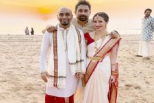 [IN PICS] Raghu Ram ties the knot to Natalie Di Lucio in a South Indian Ceremony