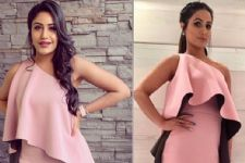 Surbhi Chandna Or Hina Khan Who Wore This Pink Designer Dress Better?