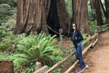 Sanaya Irani goes on an ADVENTURE trip in the lovely woods of California; PICS inside