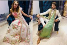 Karan Kundrra-Anusha Dandekar's look from Apeksha Dandekar & Abhishek Sharma's wedding was REGAL