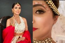 Hina Khan shares a sneak peek of her bridal look from Kasautii Zindagii Kay 2 and we want more