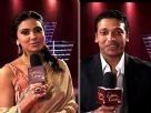 Lara and Mahesh on Koffee With Karan - Behind The Scenes