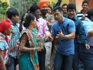 Salman Khan on the sets of SAB TV's Taarak Mehta Ka Ooltah Chashmah