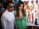 Gulshan and Raveena at a PETA campaign