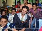 Hrithik donates School Bus to Dilkush School