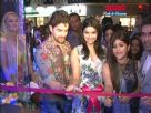 Prachi Desai and Neil Nitin Mukesh at the opening of Love and Latte coffee shop