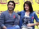 Anushka and Ranveer at Radio Mirchi Studio