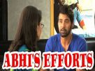 Abhi's effort to stop Pragya