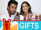 Manish Nagdev and Srishty Rode's Gift Segment
