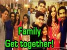 Mohit and Sanaya's exclusive family get together pictures!