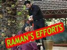 Why did Raman take Ishita to temple?