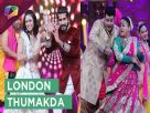 Bharti Singh, Kishwer Merchant and Suyyash Rai dancing on London Thumakda Video