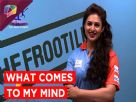 What comes on Divyanka's mind when she thinks of...