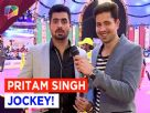 Pritam Singh went Jockey Jokey!