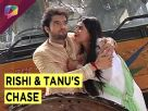 Who is chasing Rishi and Tanu in Kasam Tere Pyaar Ki ?