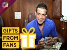 Karan Patel receives a special gift from someone Video
