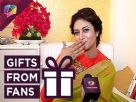 Divyanka Tripathi receives more gifts from her fans Video
