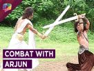 Who isit that can defeat Arjun ?