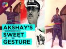 Akshay Kumar sings to thank fans and Bollywood fraternity Video