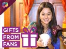 Helly Shah receives gifts from her fans with get well soon wishes