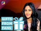 Surbhi Chandana receives gift from a fan Video