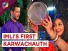 Imli celebrates her first Karwachauth in Udaan