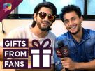 Kunal Jaisingh and Leenesh Mattoo receive gifts from fans Video