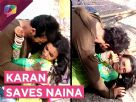 Karan Tries To Save Naina | INJURED | Swabhimaan | Colors Tv
