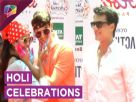 Mohsin Khan, Rohan Mehra, Kanchi Singh And Others Celebrate Holi
