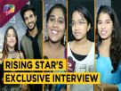 Top 16 Rising Star Contestant's Photo shoot And Exclusive Interview | Colors TV Video